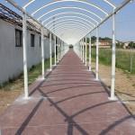 tettoia pedonale
